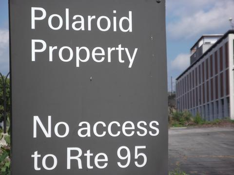 Polaroid headquarters redevelopment for flood control.