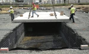 concrete roof quality inspection
